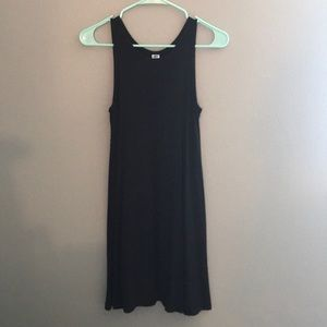 Sleeveless Black Shift Dress